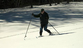 Cross Country Skiing In The Berkshires, Berkshire Cross Country Skiing, Cross Country Skiing In Berkshire County, Berkshire Vacations