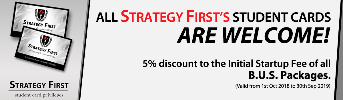 5% off to all Strategy First's student cards