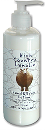 High Country Lanolin  Hand and Body Wash With Aloe Vera & Vitamin E