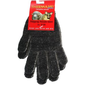 Merino Wool & Possum Fibre Gloves