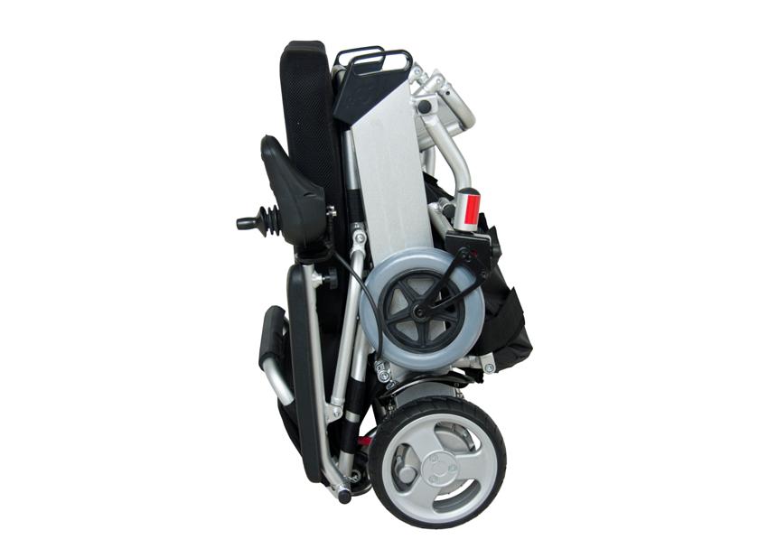 מדהים כסא גלגלים ממונע חשמלי מתקפל עם אישור לטיסה JZ-29