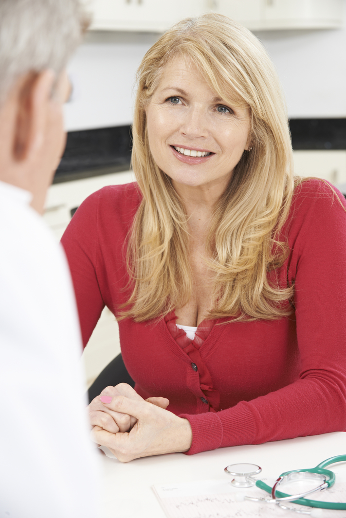 woman hormone therapy