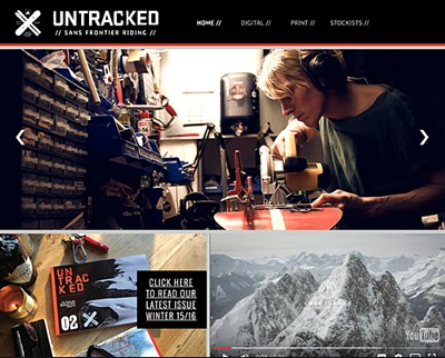 untracked magazine web