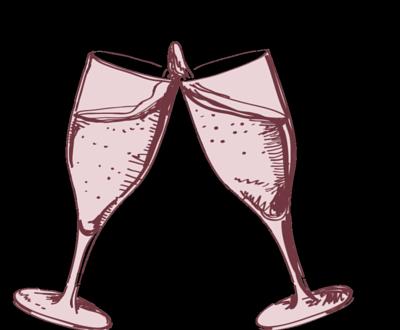 Wein und Prosecco