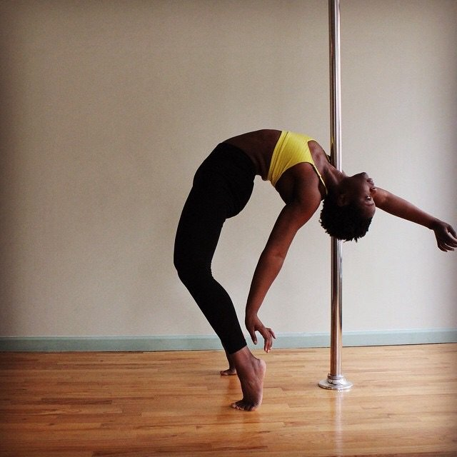 Pole Play class is a fun pole class for all levels.
