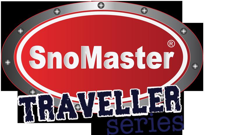 Logo fro snomaster usa traveller