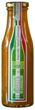 Luca's Narcotic Salad Dressing