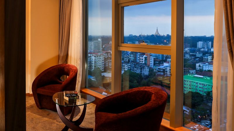 Luxury boutique hotel in Rangoon