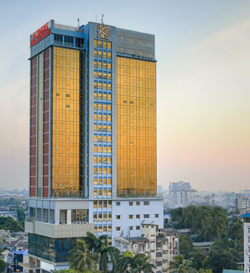 Star hotel in yangon sanchaung township for Designhotel 1690
