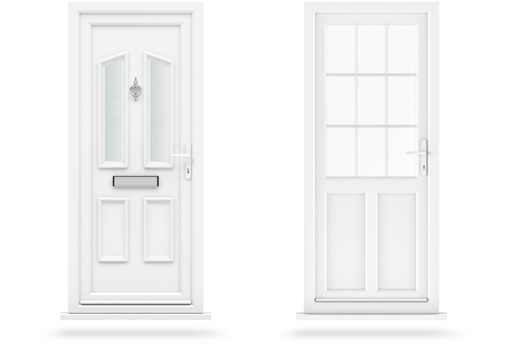 What is the difference between upvc and composite doors for Upvc french doors tilt and turn