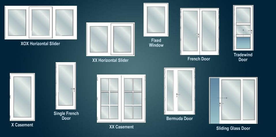 Different types of windows window styles for Different window designs