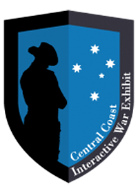 central coast interactive war exhibit logo