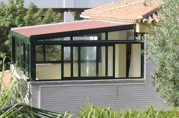 Tejados para terrazas slide terraza imgenes de techos for Precio cerramiento terraza