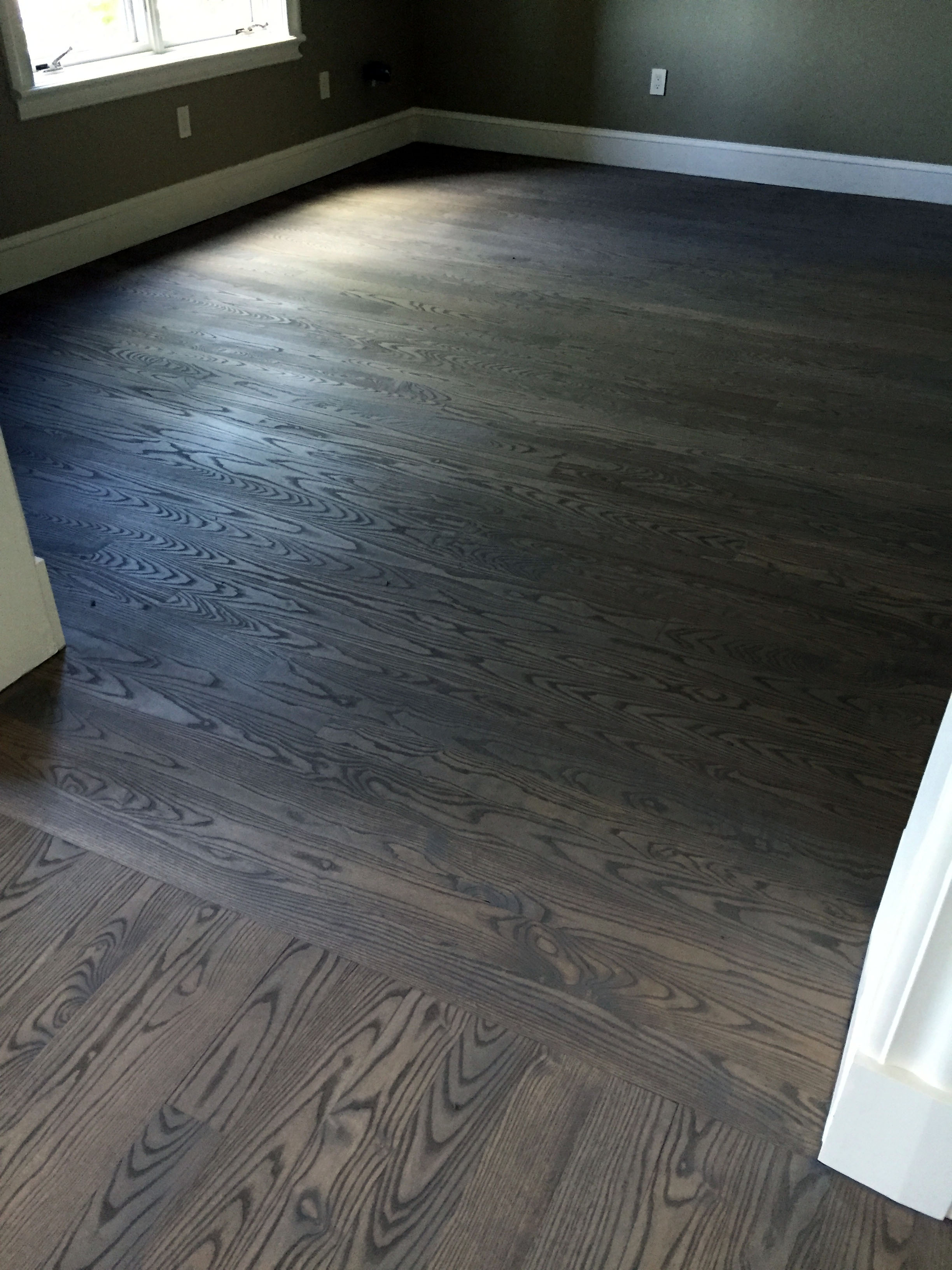 Stain Ash Wood Floors Grey