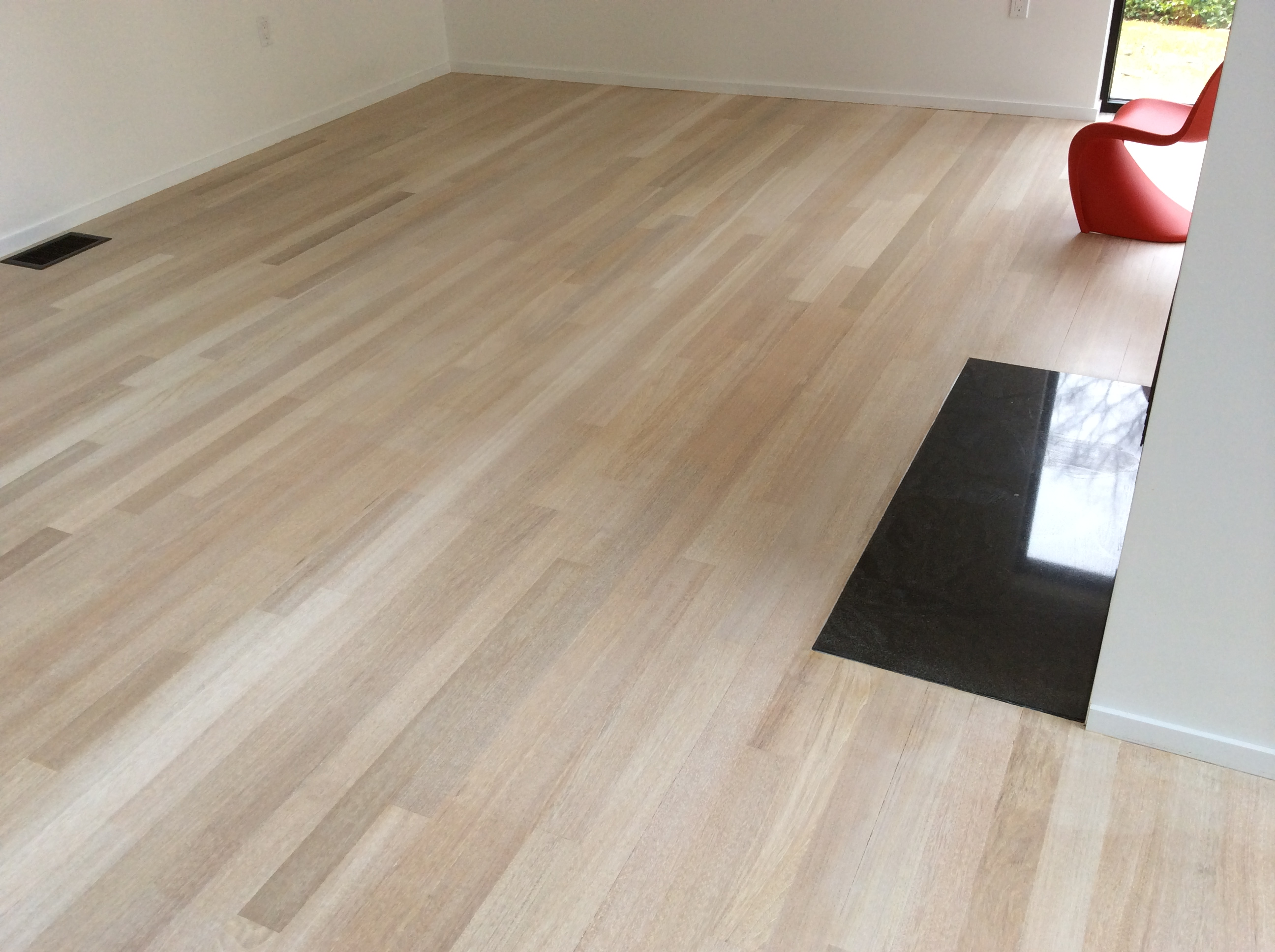Bleaching Or Staining Brazilian Cherry Floors