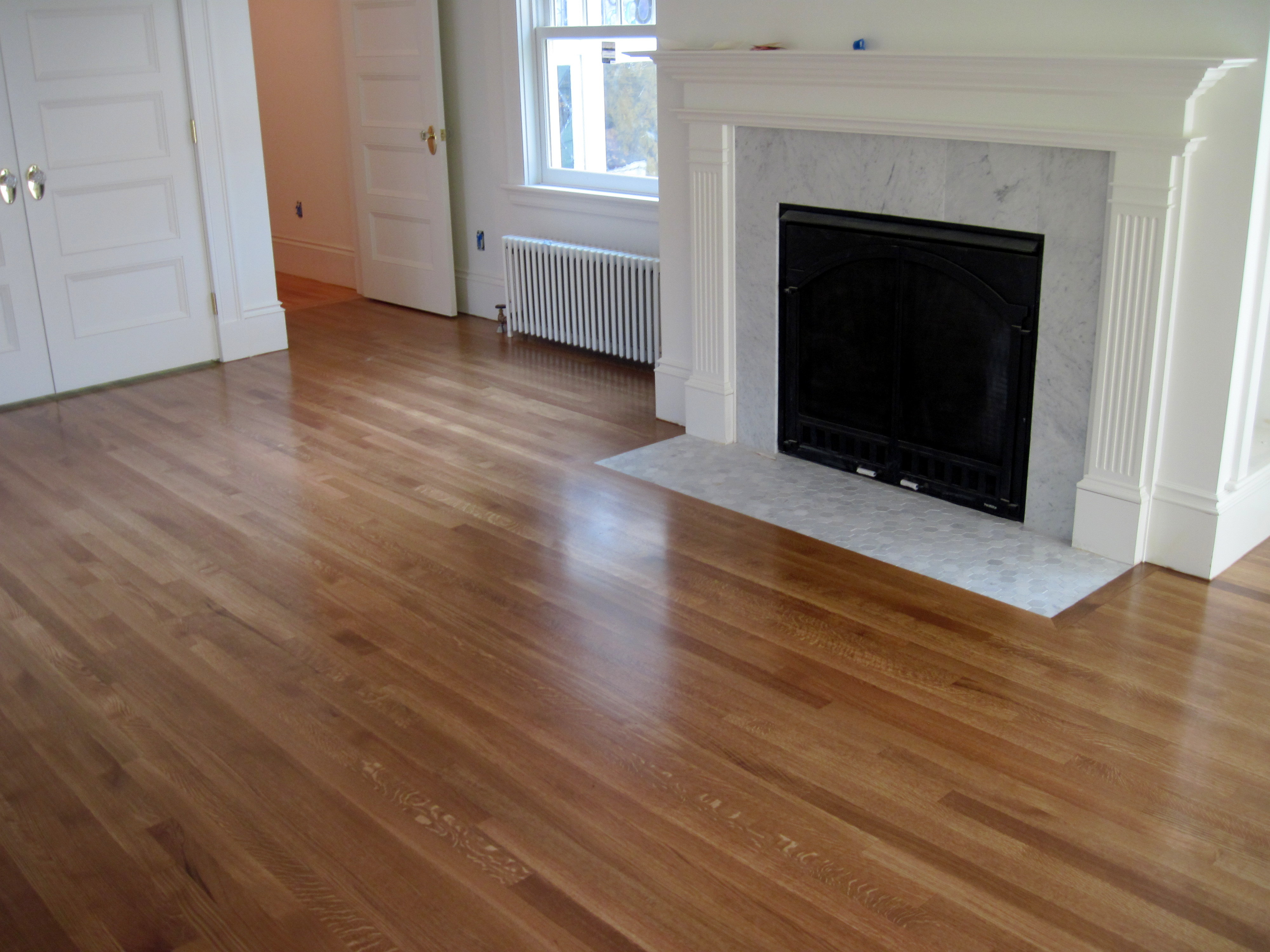 Sometimes All Your Floor Needs Is A Buff And Coat To Shine Like New