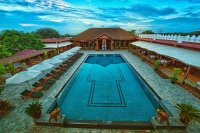 Bagan Lodge 4-star Bagan Lodge Hotel , Myat Lay Road, New Bagan