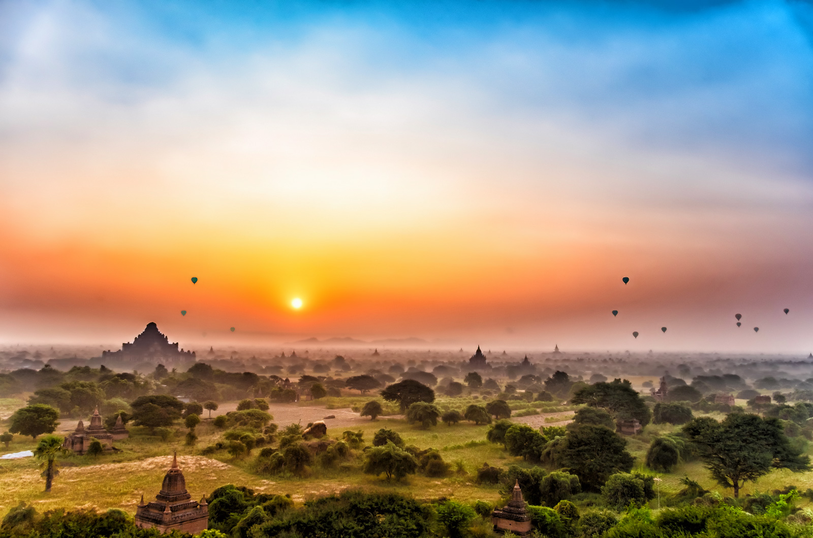 5 of the Best Temples to watch the Sunrise and Sunset in Bagan​
