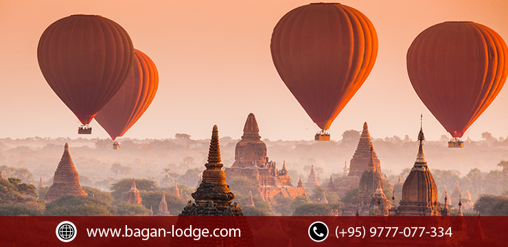 Myanmar's Hot Air Balloons in Bagan