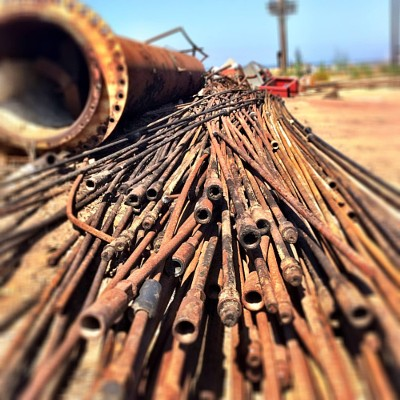 Newport Banning Ranch Oil Pipes
