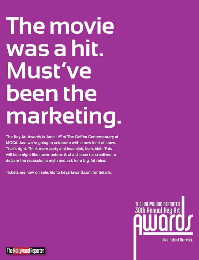 The Hollywood Reporter Key Awards Ad Campaign