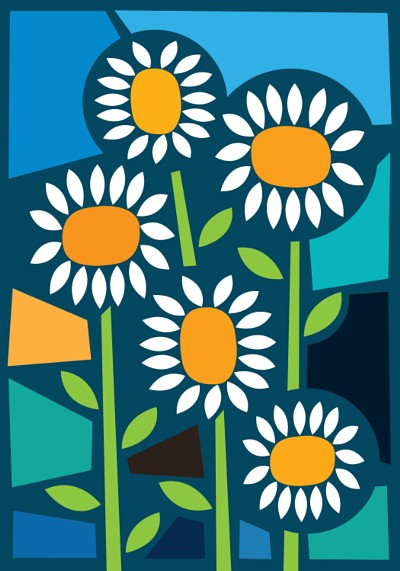 Daisies illustration