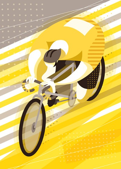 Bike Guy illustration