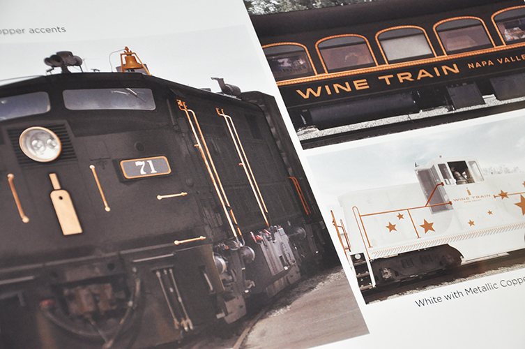 Napa Valley Wine Train Vision Book