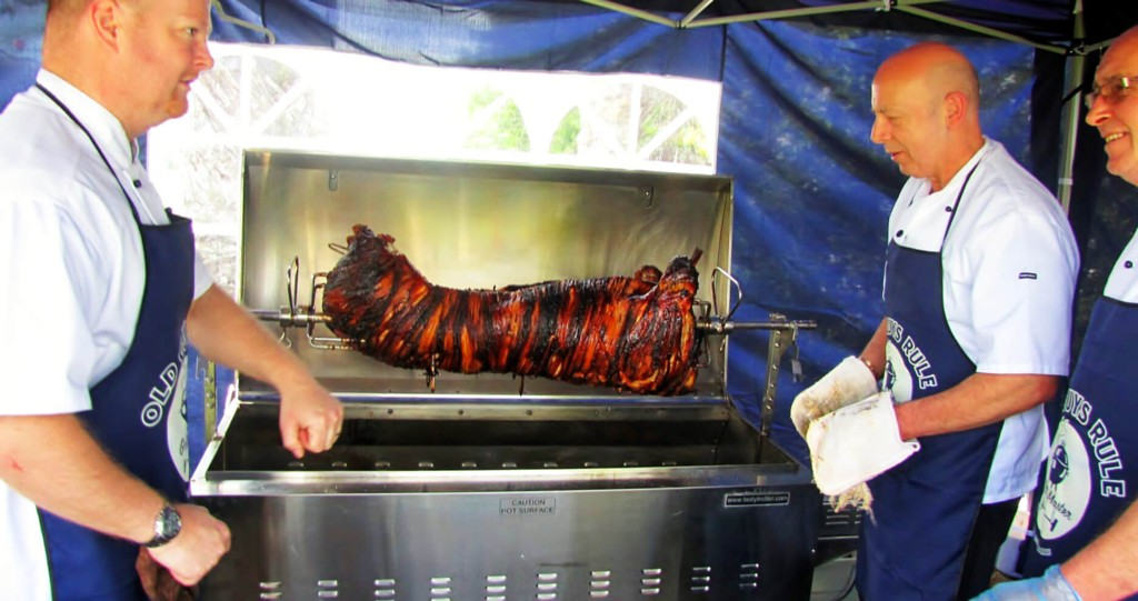 Hog Roast catering in Devon