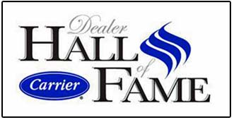 First dealer inducted into the Carrier Hall of Fame