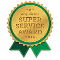 Angie's List Super Service Award graphic