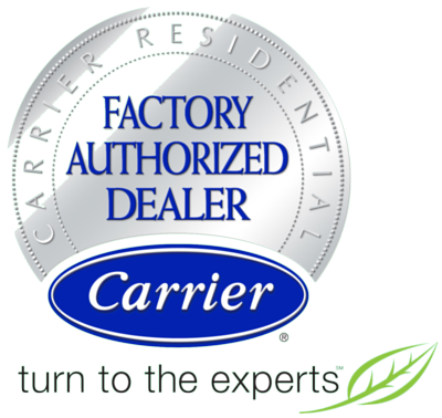 factory authorized Carrier Dealer graphic