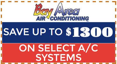 Coupon graphic for air conditioning savings