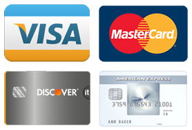 Picture of Credit Cards Accepted