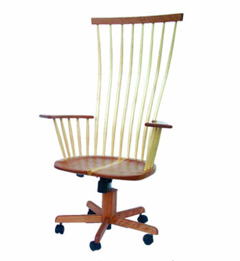 Custom Windsor Office Chair