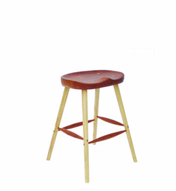 Home or restaurant handmade stool