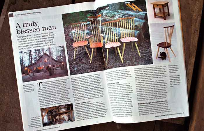 Good Woodworking Magazine - Michael Brown Chairmaker