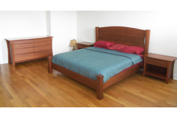 Mahogany Bed Set