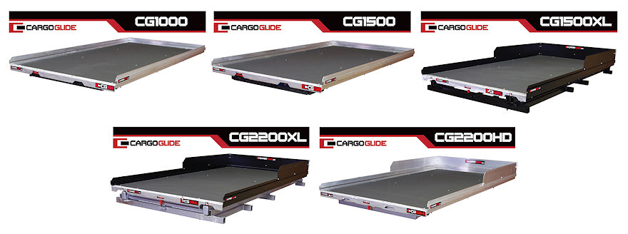 Cargoglide bed trays