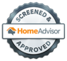 Home Advisor screened and approved  graphic