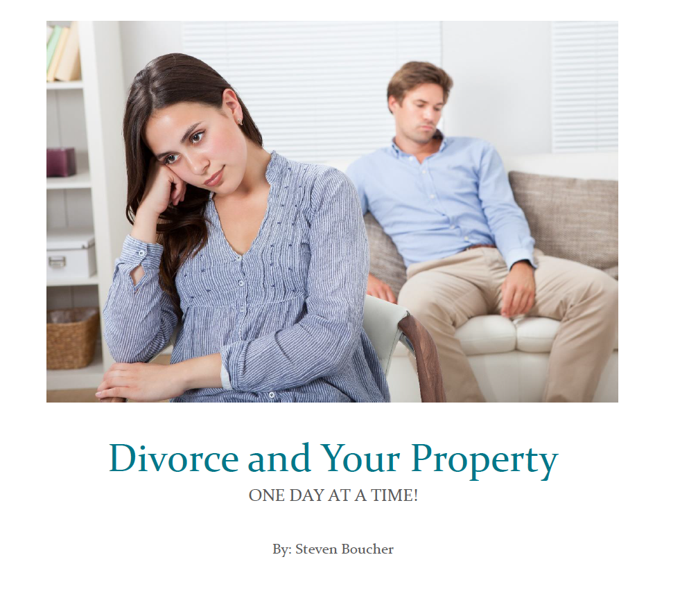 Divorce and Your Property