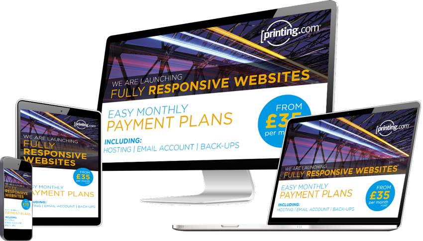 Fully Responsive Website Screens