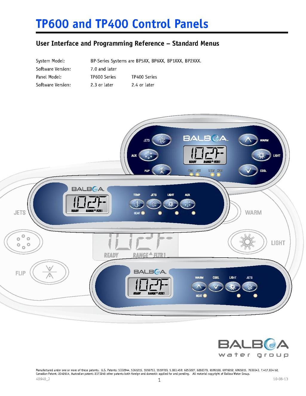 swimspa aquaclear balboa tp600 manual rh timeoutspas com sunbelt swim spa manual Artesian Spas Brand