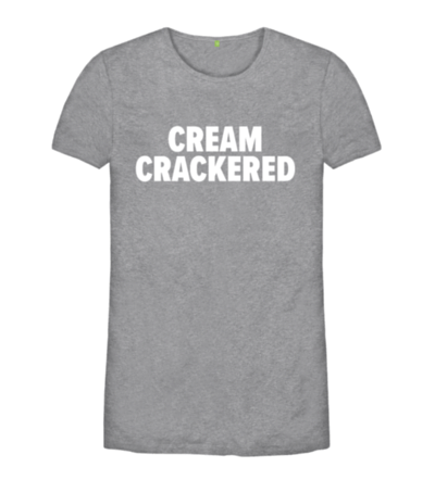 Cream Crackered tee