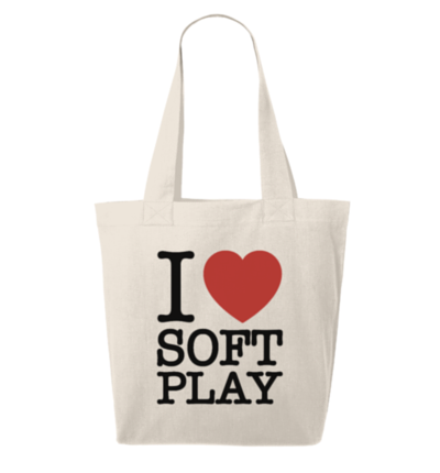 I Love Soft Play Bag