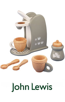 John Lewis Toy Coffee Machine