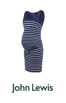 John Lewis Navy Maternity Dress