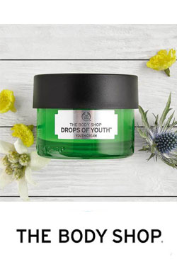 The Body Shop Drops of youth face cream