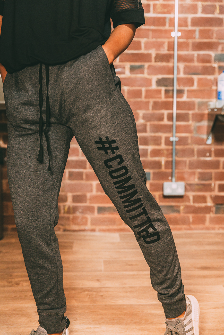 #DROP CROTCH JOGGERS Unisex