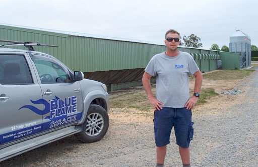 Blue Flame - AaronBlue Flame Gas and Pipe Services | Aaron